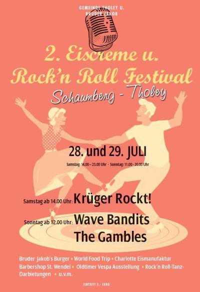 2. Eiscreme und Rock´n Roll Festival