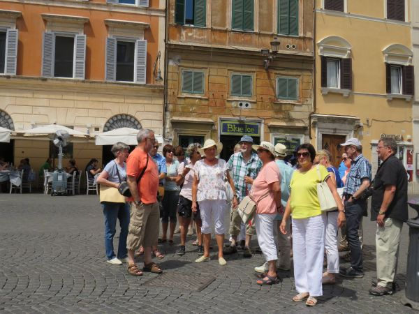 9. Fahrt der Gemeinde nach Rom