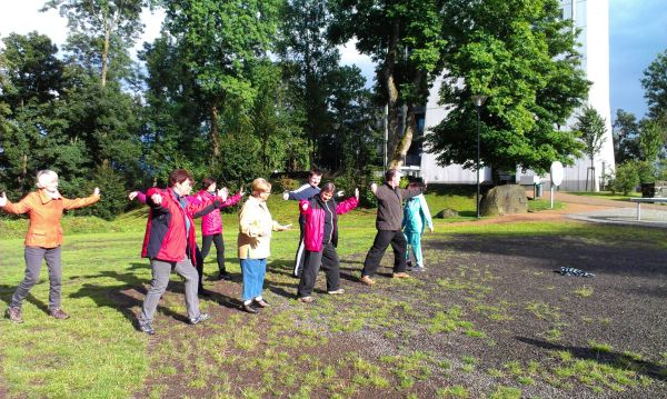 Offenes Taiji und Qi Gong