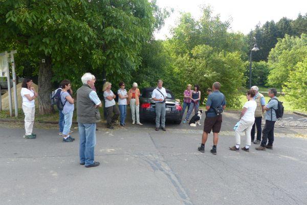 Vegetationskunde im Landschaftspark Imsbach