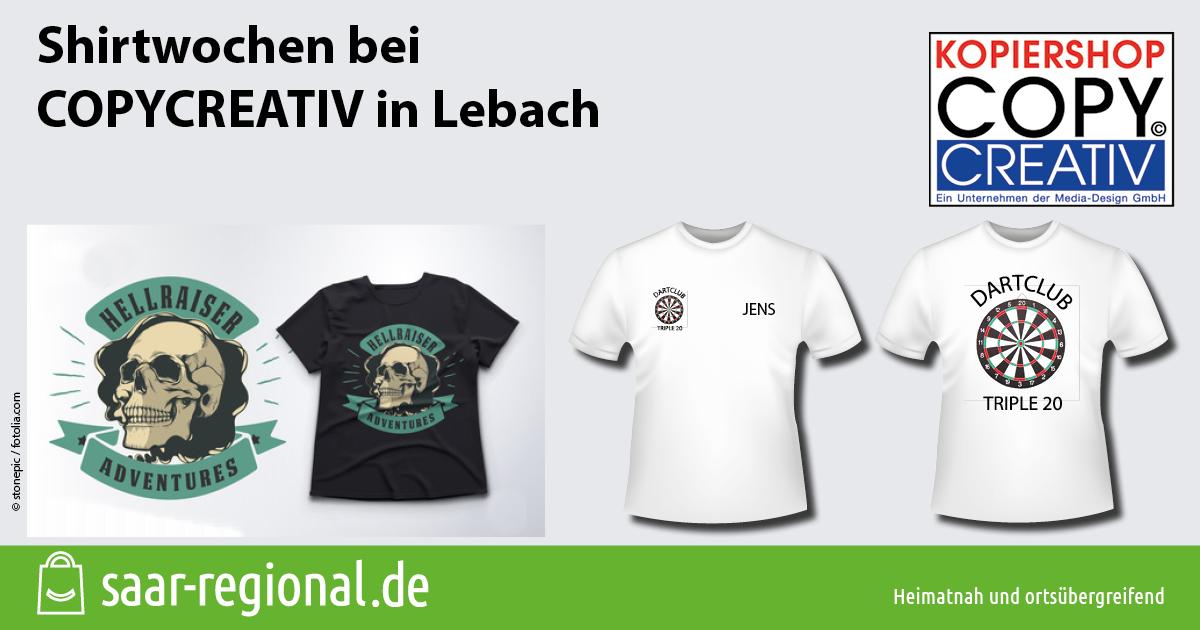 Shirtwochen bei COPYCREATIV in Lebach