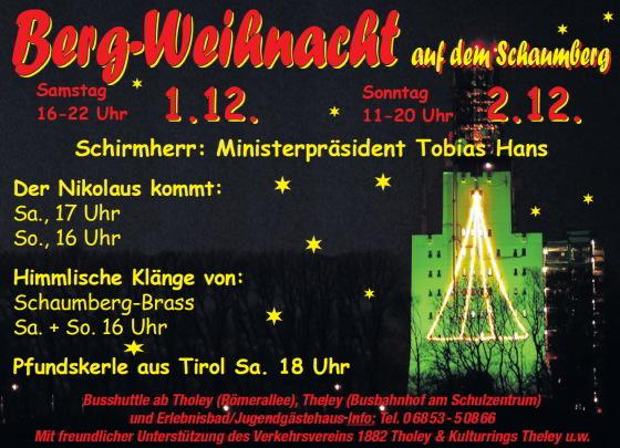 Berg-Weihnacht auf dem Schaumberg