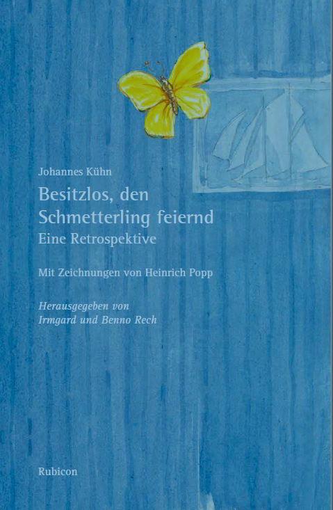 """Einladung zur """"Literarischen Dämmerstunde"""" mit Johannes Kühn"""
