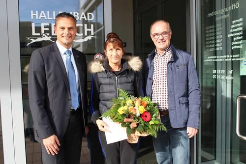 Lebacher Hallenbad: 60.000 Besucherin