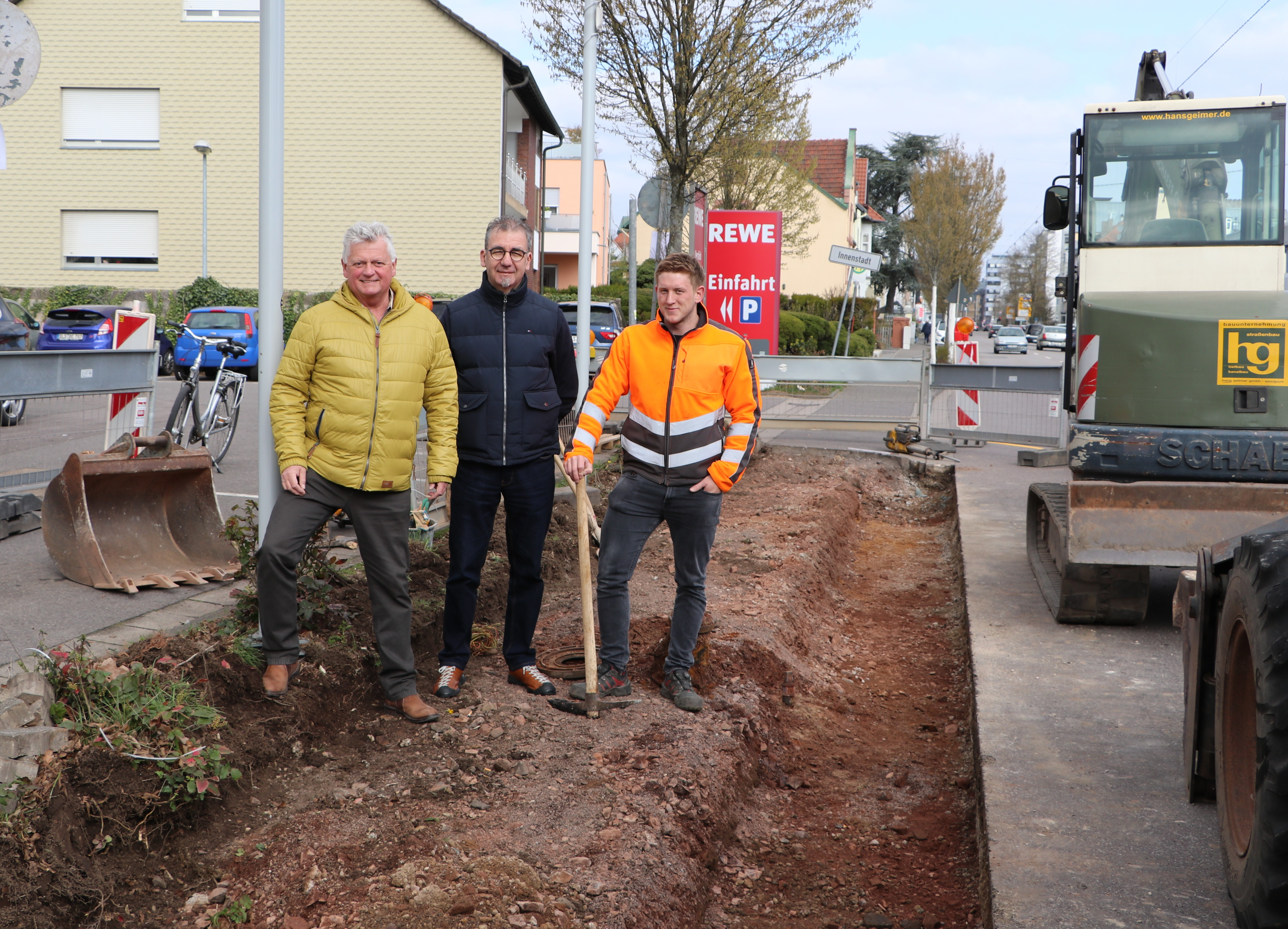 Vier Bushaltestellen in Saarlouis werden barrierefrei