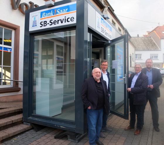 Volksbank in Hasborn-Dautweiler erhält neues Gesicht