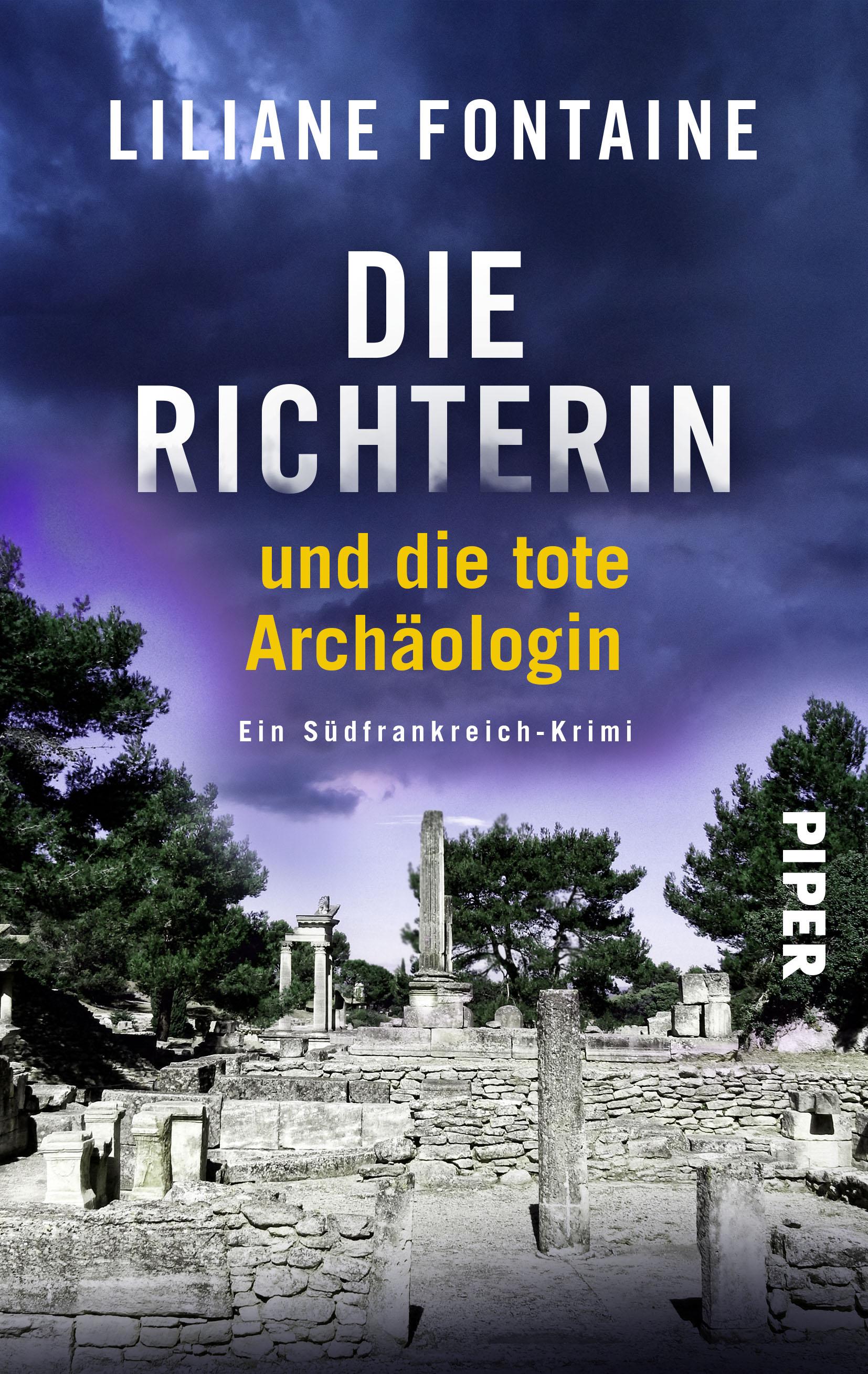 """""""Die Richterin und die tote Archäologin"""" Lesung mit Liliane Fontaine in der Stadtbibliothek Saarlouis"""