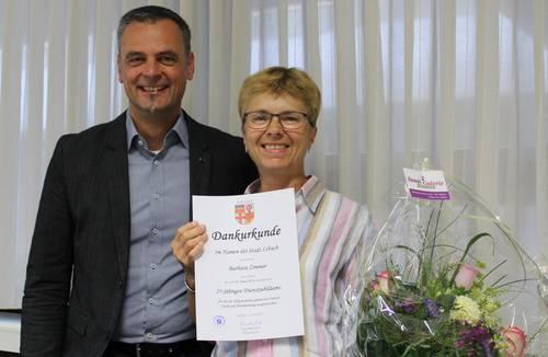 25 Jahre im Dienst der Stadt Lebach