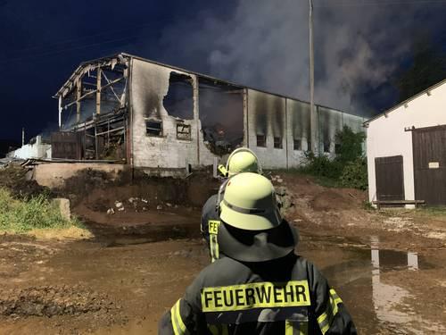 Brand auf Gresaubacher Bauernhof gelöscht