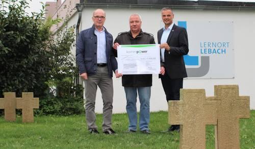 """1000 Euro für """"Lernort Friedhof"""""""