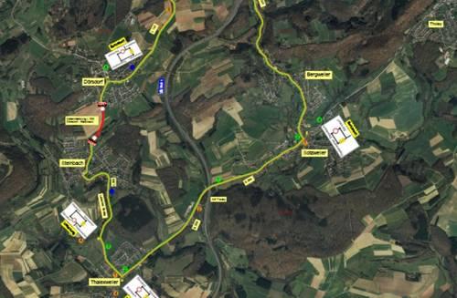 Vollsperrung zwischen Dörsdorf und Steinbach
