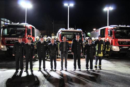 Drei Fahrzeuge für die Feuerwehr