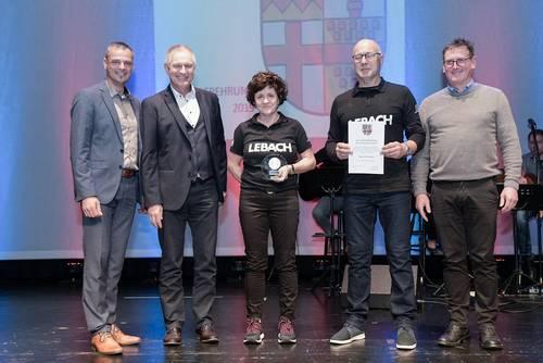Stadt Lebach zeichnet erfolgreiche Sportler aus