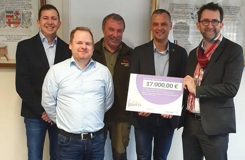 17.000 Euro für den Lebacher Wald