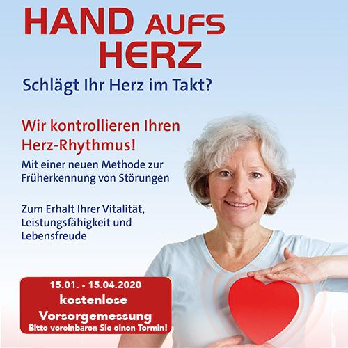 Kostenlose Aktion zur Früherkennung von Herz-Kreislauf-Problemen