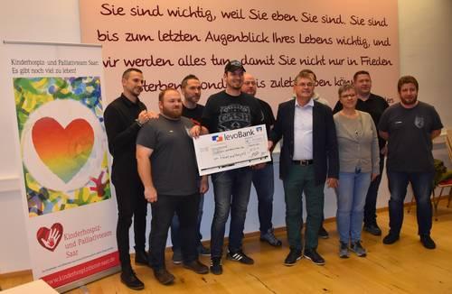 Rock meets Benefiz: 40.000 Euro für kranke Kinder