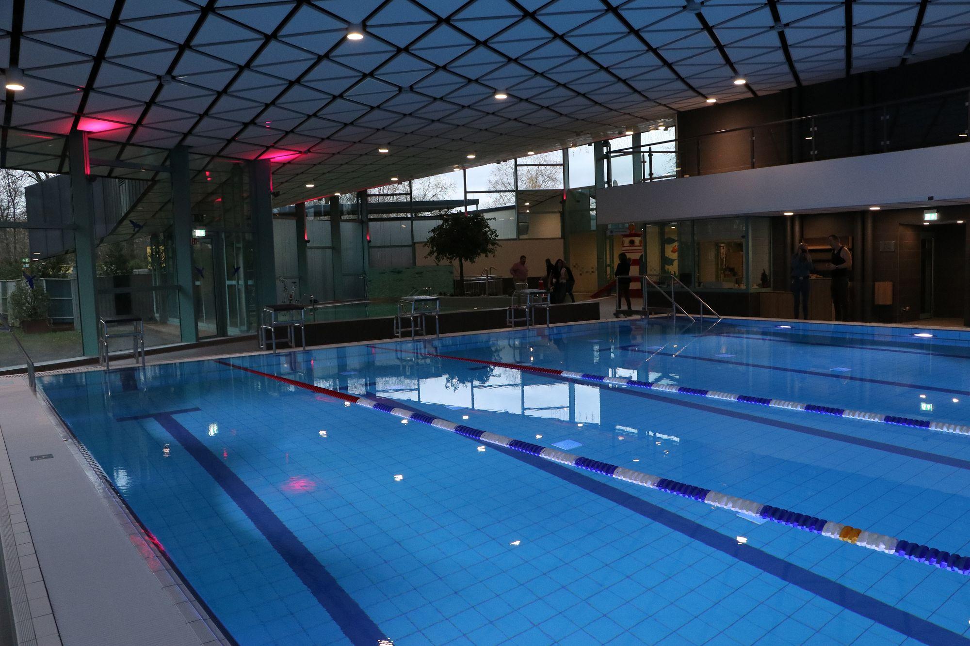 Erweiterte Schwimm- und Saunazeiten ab Anfang März