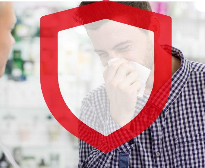 BRANDAKTUELL: Der clevere Virenschutz. Acrylwände als Hygieneschutz und Abstands-Hinweisaufkleber