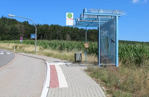 Barrierefreier Ausbau der Haltestellen