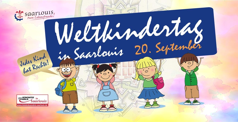 """""""Kinderrechte schaffen Zukunft!"""" – Aktionswochen mit Nachhaltigkeit zum Weltkindertag in Saarlouis"""