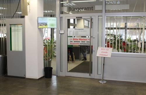 Lebacher Rathaus bleibt geöffnet