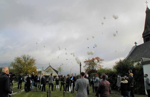 Luftballons über Lebach