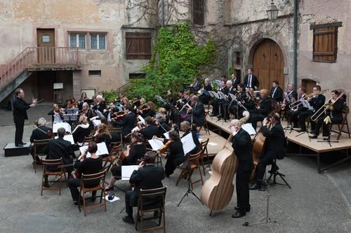Sinfoniekonzert mit dem Orchestre Symphonique SaarLorraine und Marie Joselle Hendel (Geige)