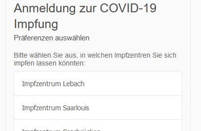 Nun auch Termine im Impfzentrum in Lebach möglich